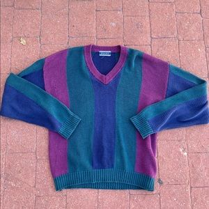 Sweater with super clean colors
